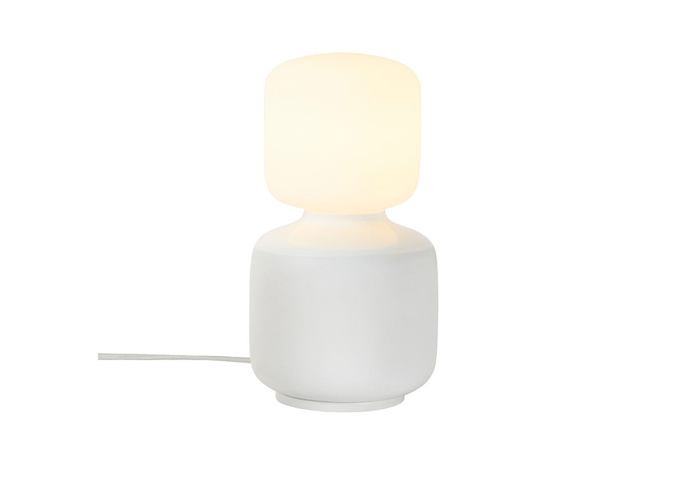 As Shown: Reflection Oblo Table Lamp On