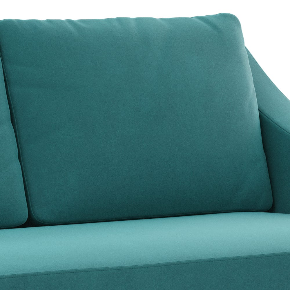 Upholstered in luxurious water repellent smart velvet as well as being available in all Heal's fabrics.