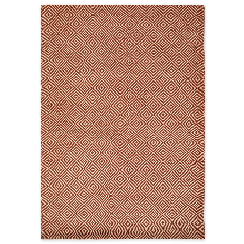 Romilly Recycled Outdoor Rug Terracotta