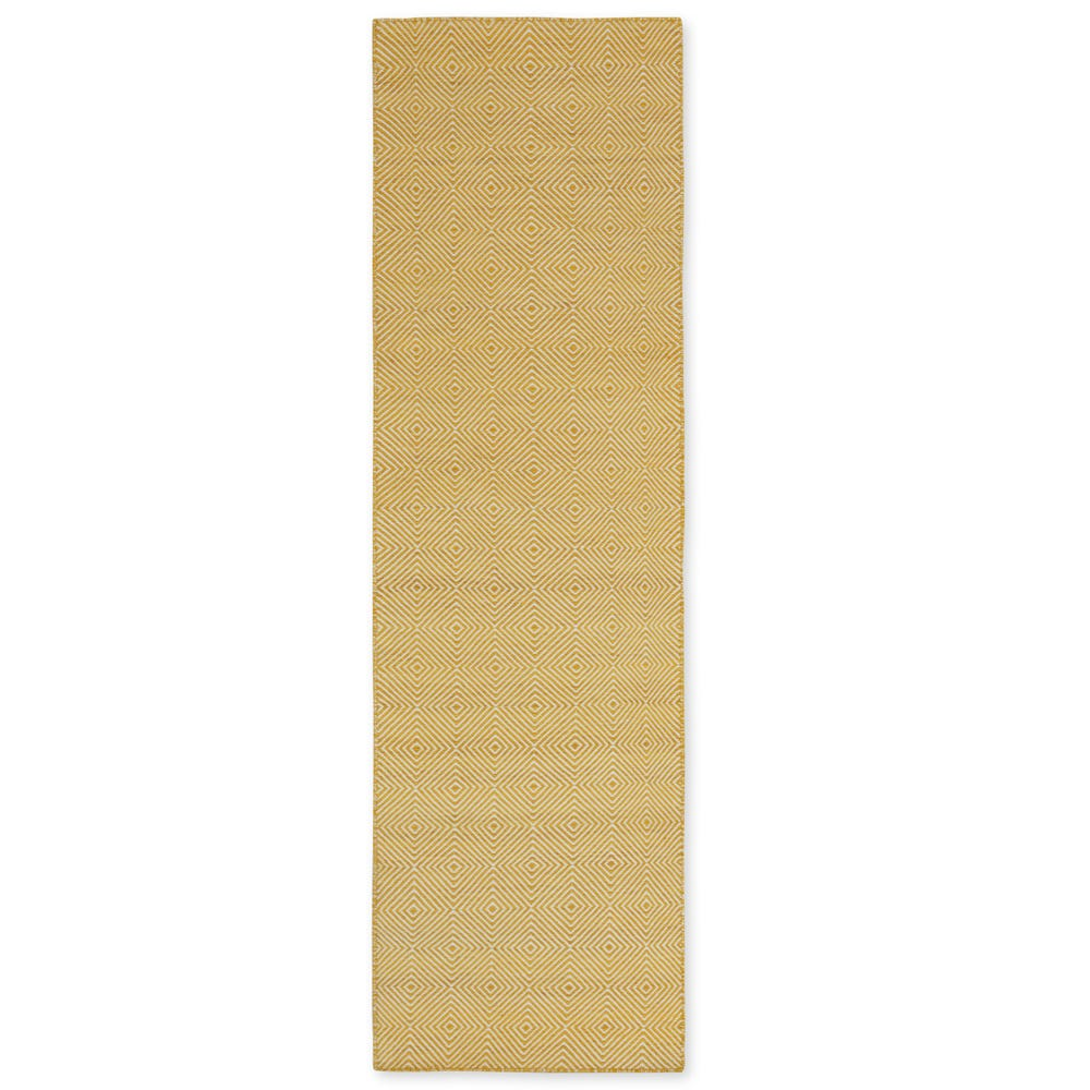 Romilly Recycled Runner Yellow 70 x 230cm