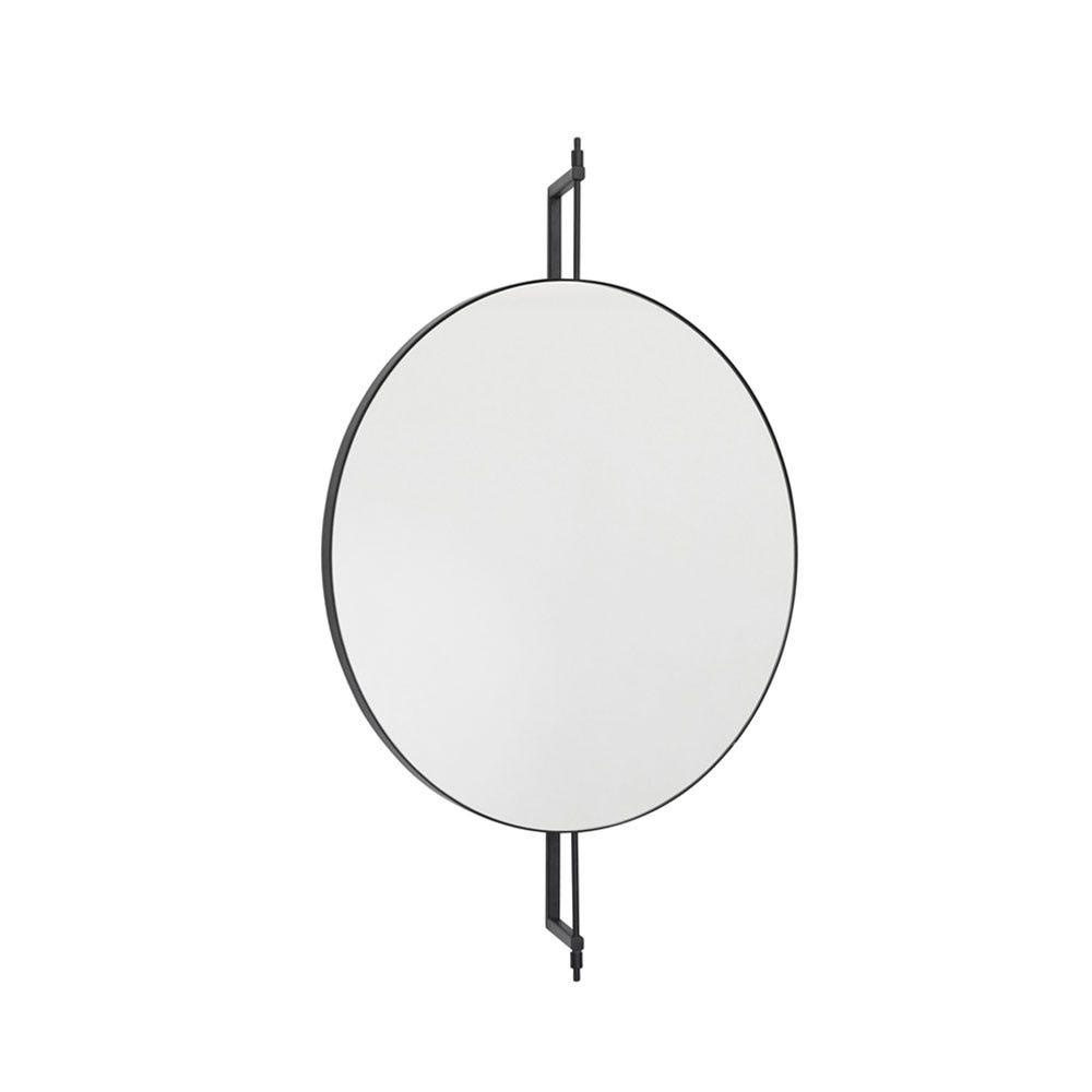 Round Rotating Mirror