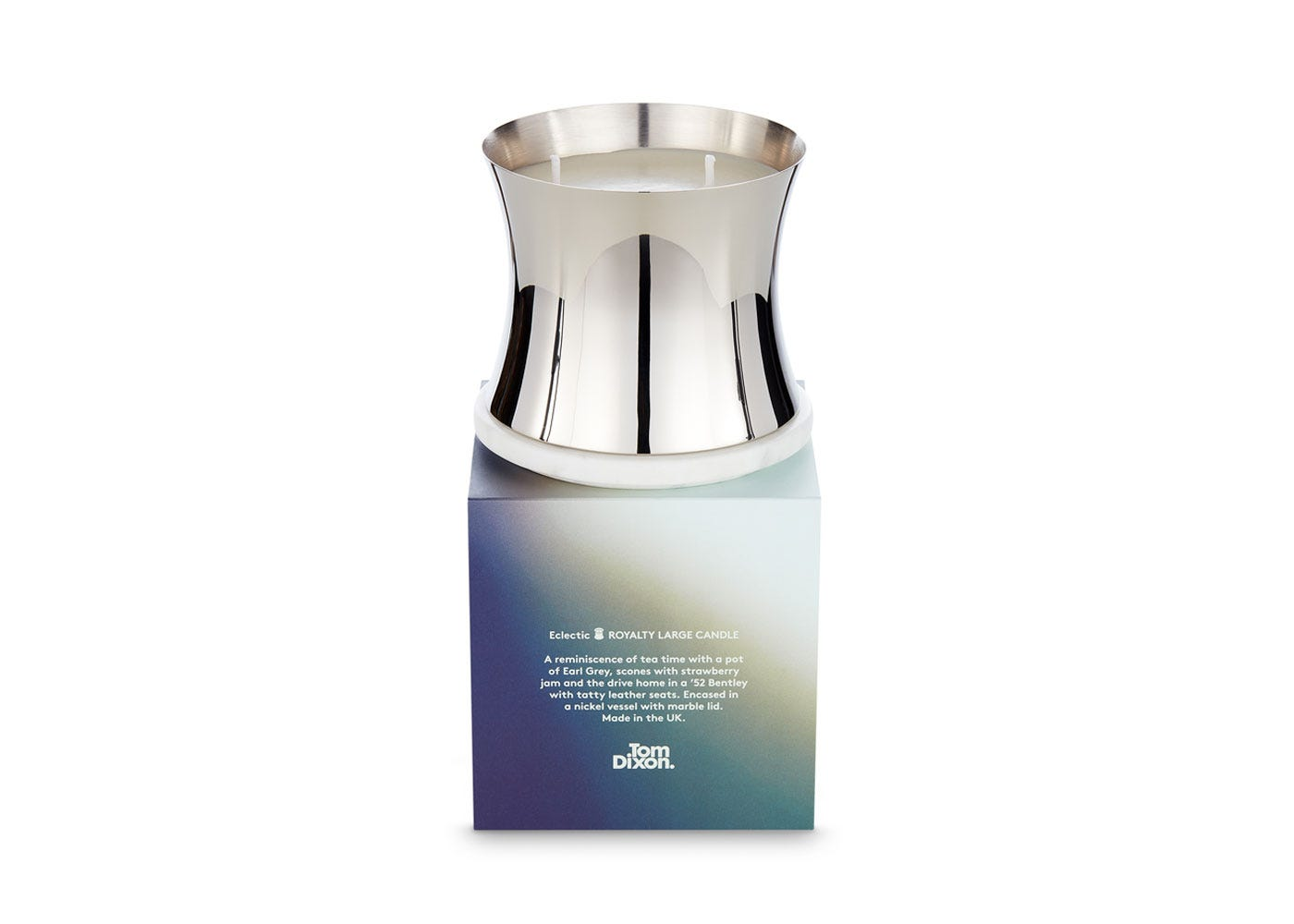 As Shown: Scent Royalty Candle Large With Lid Off With Box