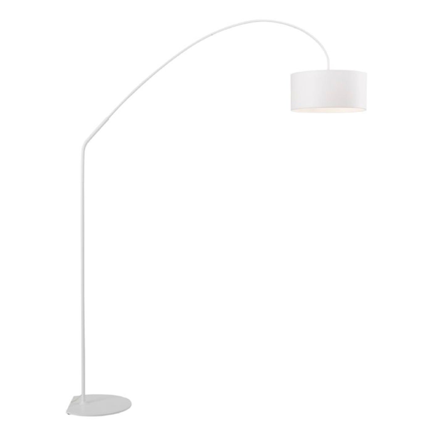 Night Floor Lamp Large White