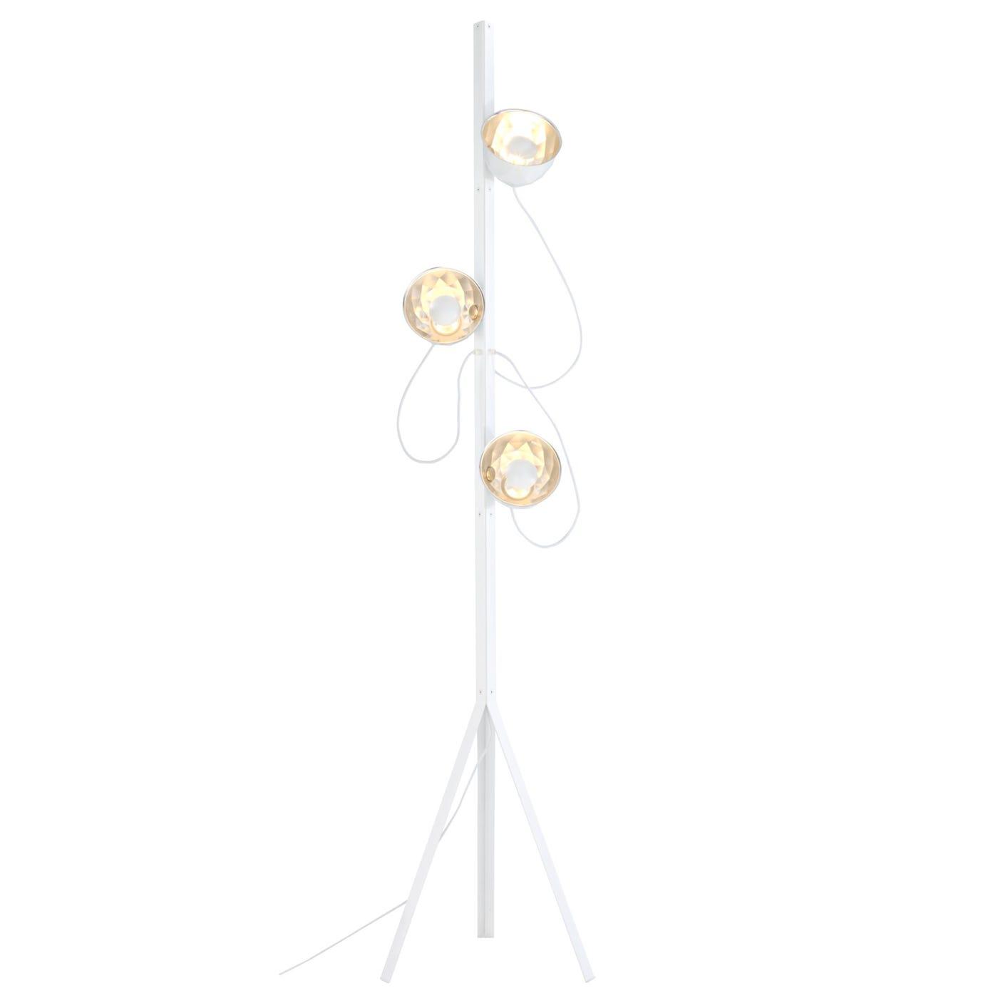 Trepied Floor Lamp White
