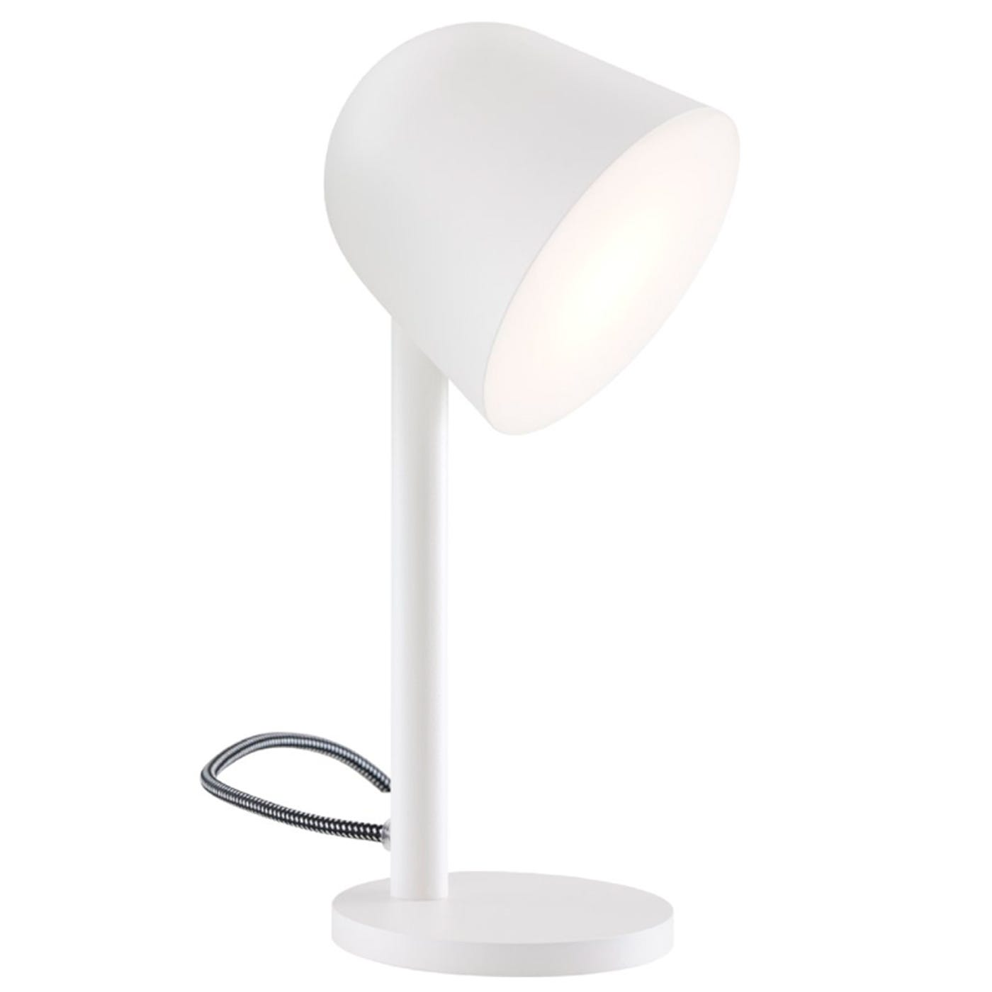Campanule Table Lamp White Lacquer