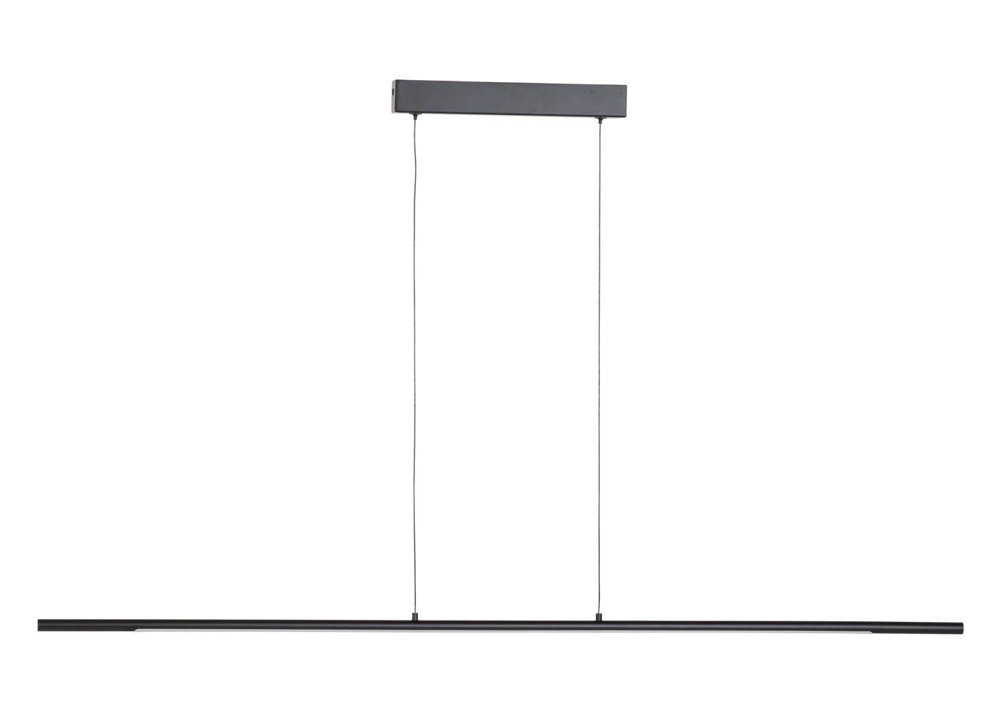 As Shown: Saber LED Long Pendant Black Off