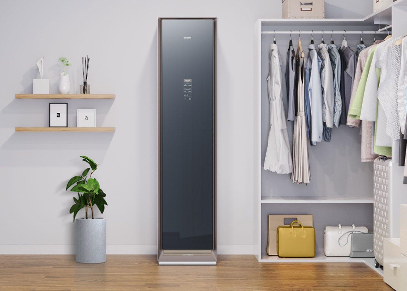 As shown: Samsung AirDresser