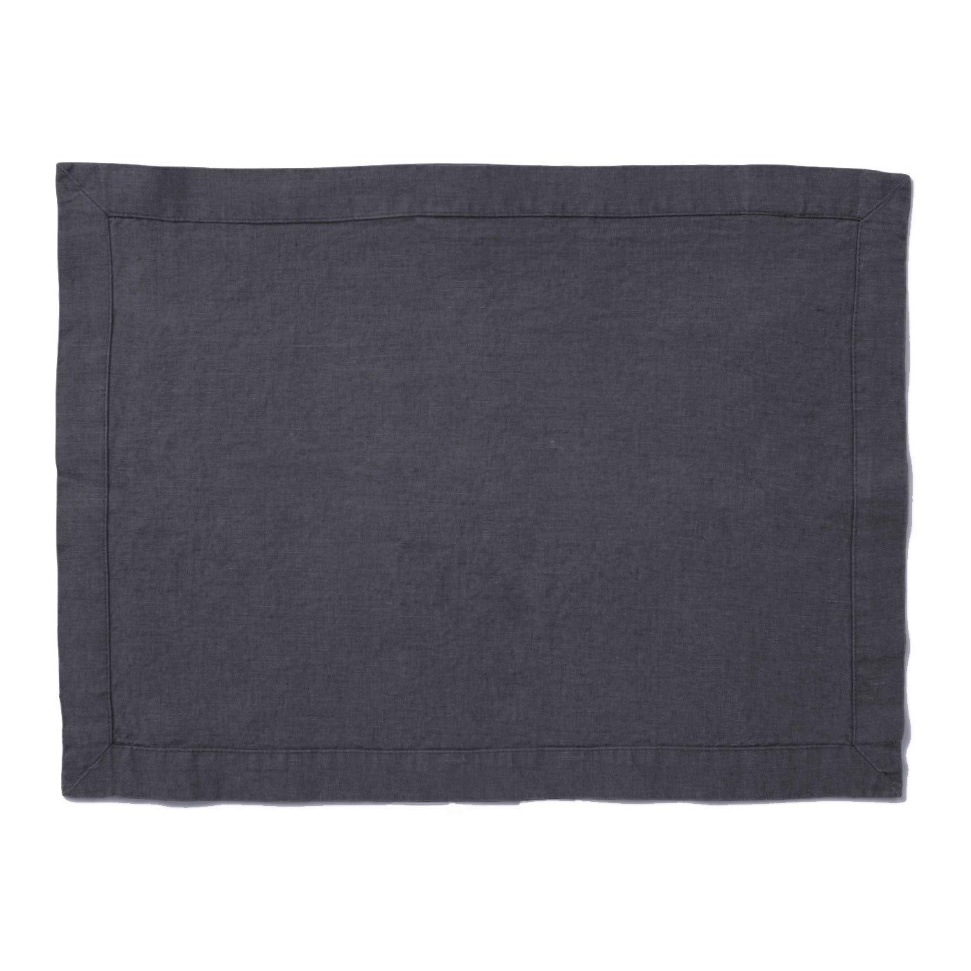 Heal's Linen Placemat Slate