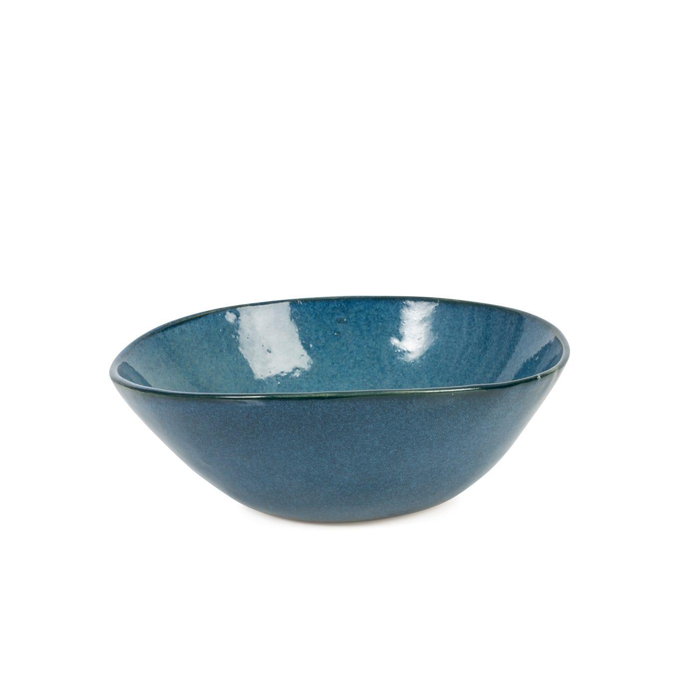 Sapphire Glaze Small Bowl