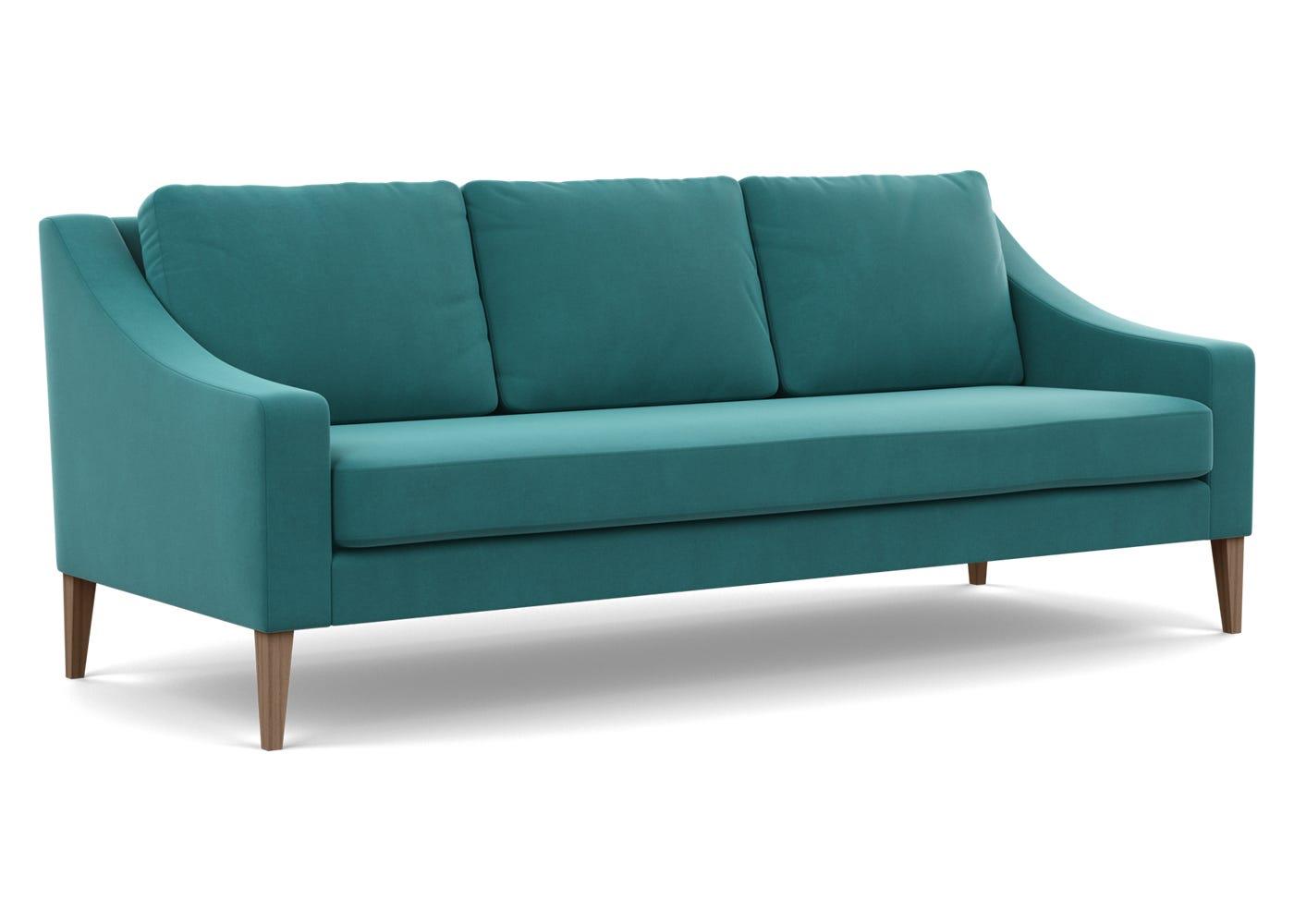 in Smart Velvet Turquoise