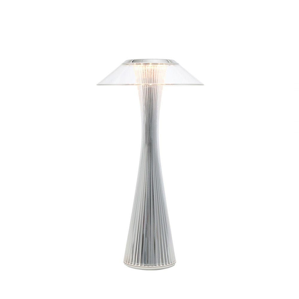 Space Table Lamp Chrome