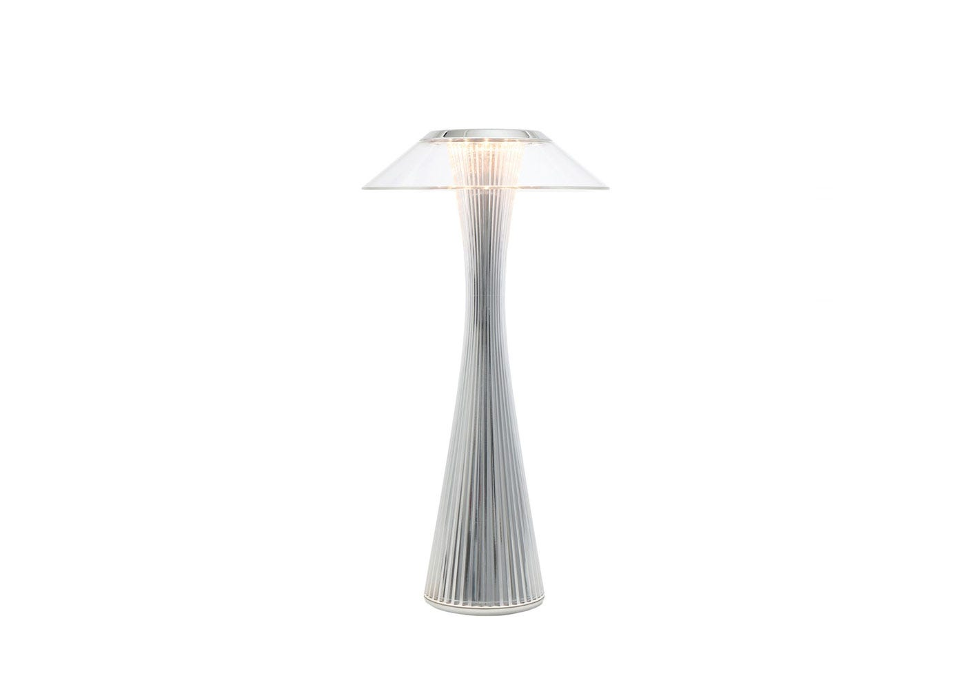 As shown: Space lamp chrome