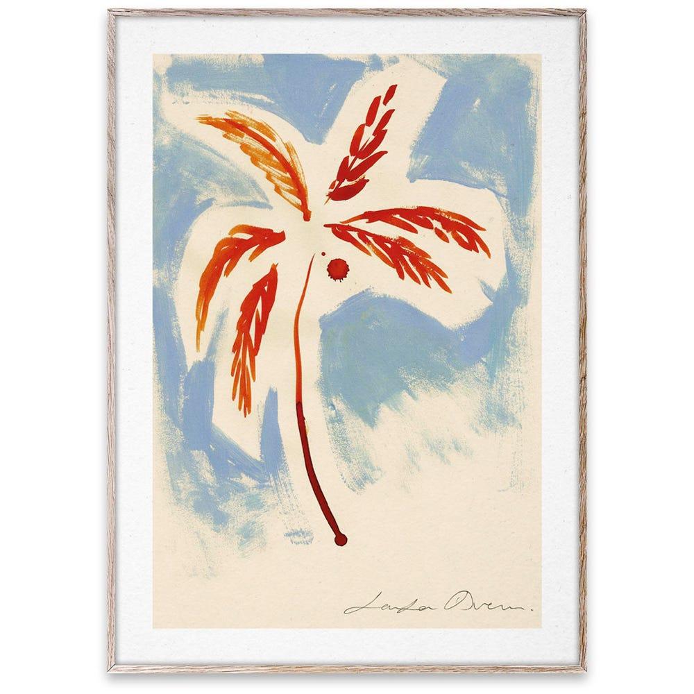 Stormy Palm by LouLou Avenue 50 x 70cm Print