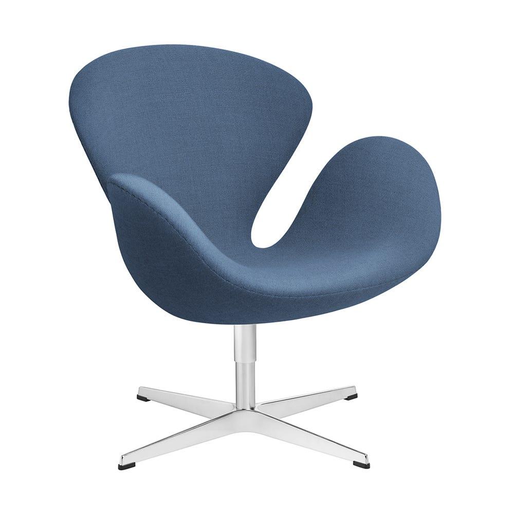 Swan Lounge Chair Light Blue
