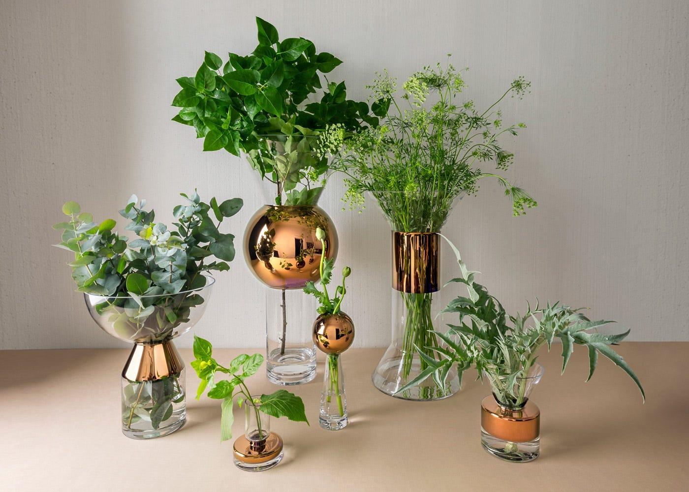 Stem Vase seen in the centre