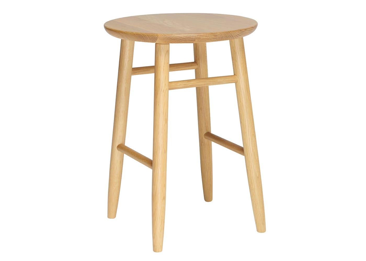 Teramo Dressing Table Stool - Side View