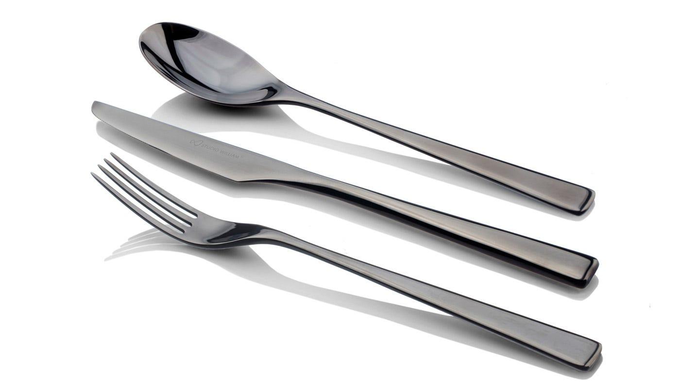 Tilia Obsidian Cutlery 24 Piece Set