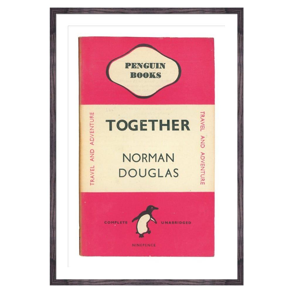 Together Book Cover Penguin Books Framed Print