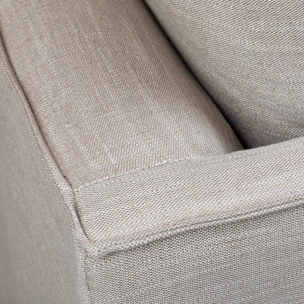 French seams complete the elegant Tortona sofa collection