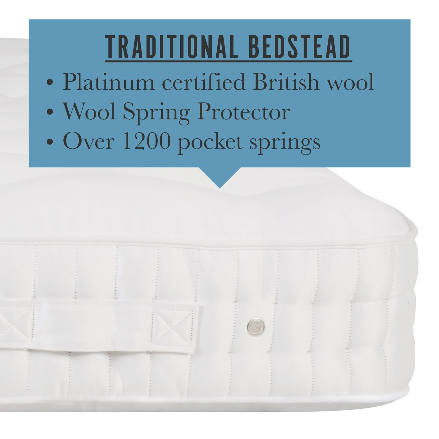 Traditional Bedstead Mattress