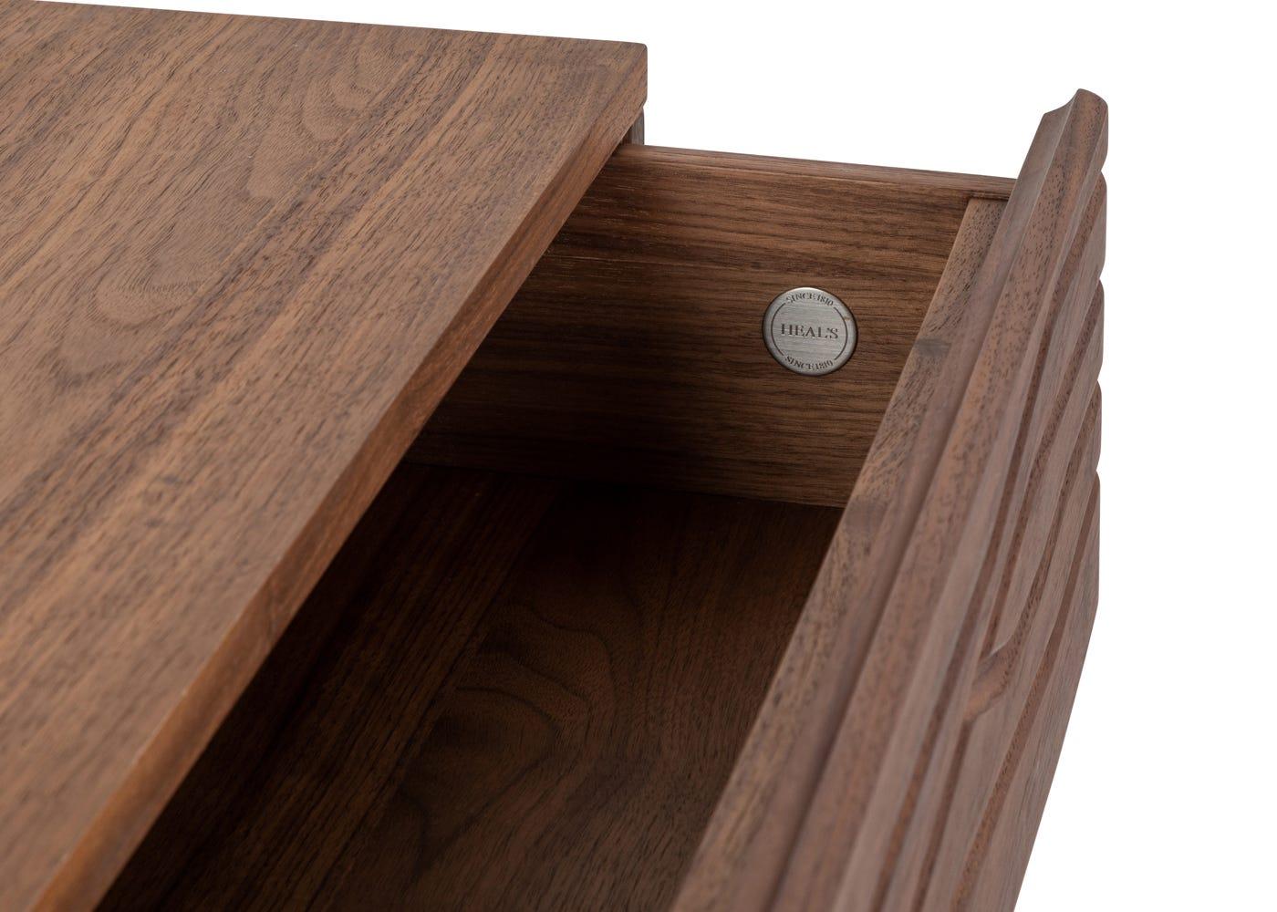 As shown: Storage drawer.