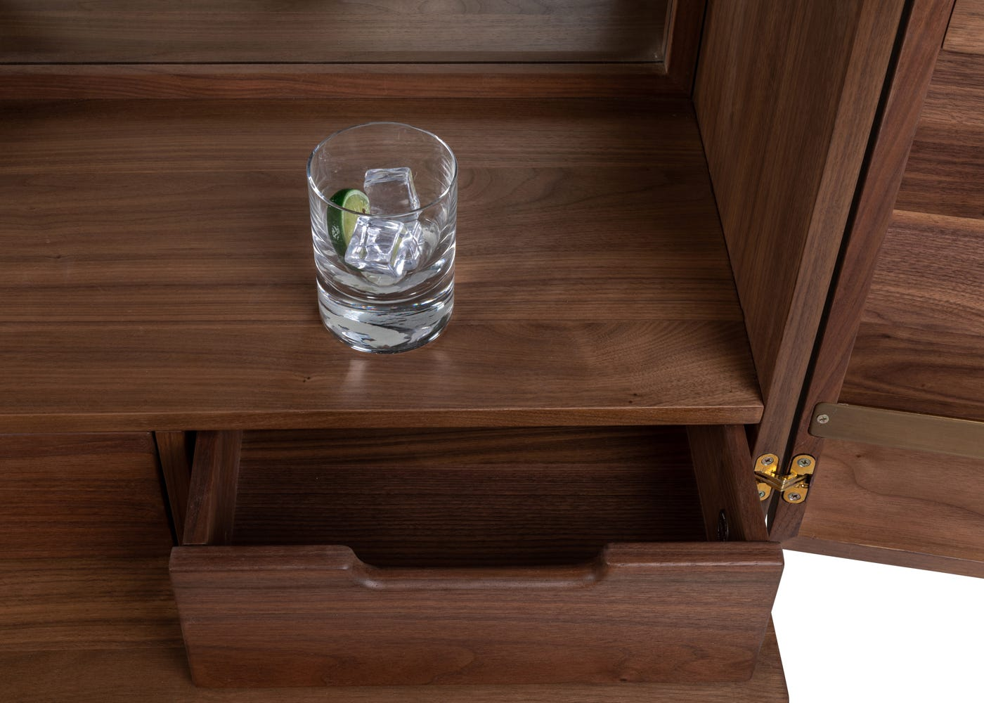 As shown: storage compartment.