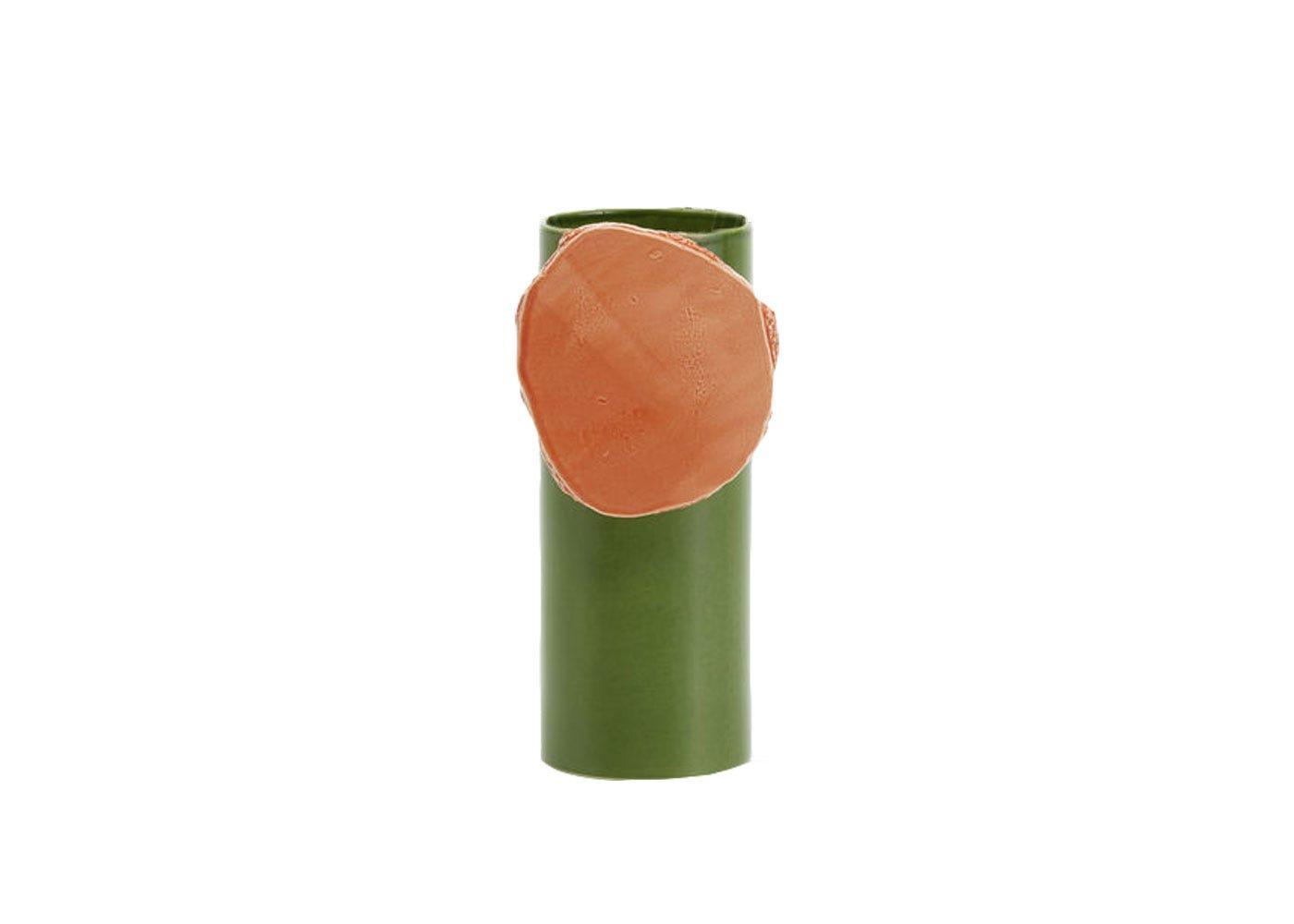 As Shown: Vase Découpage Disque