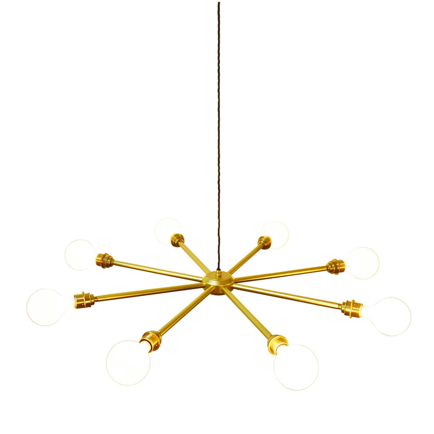 Vega 8- 8 Globe Filament Chandelier