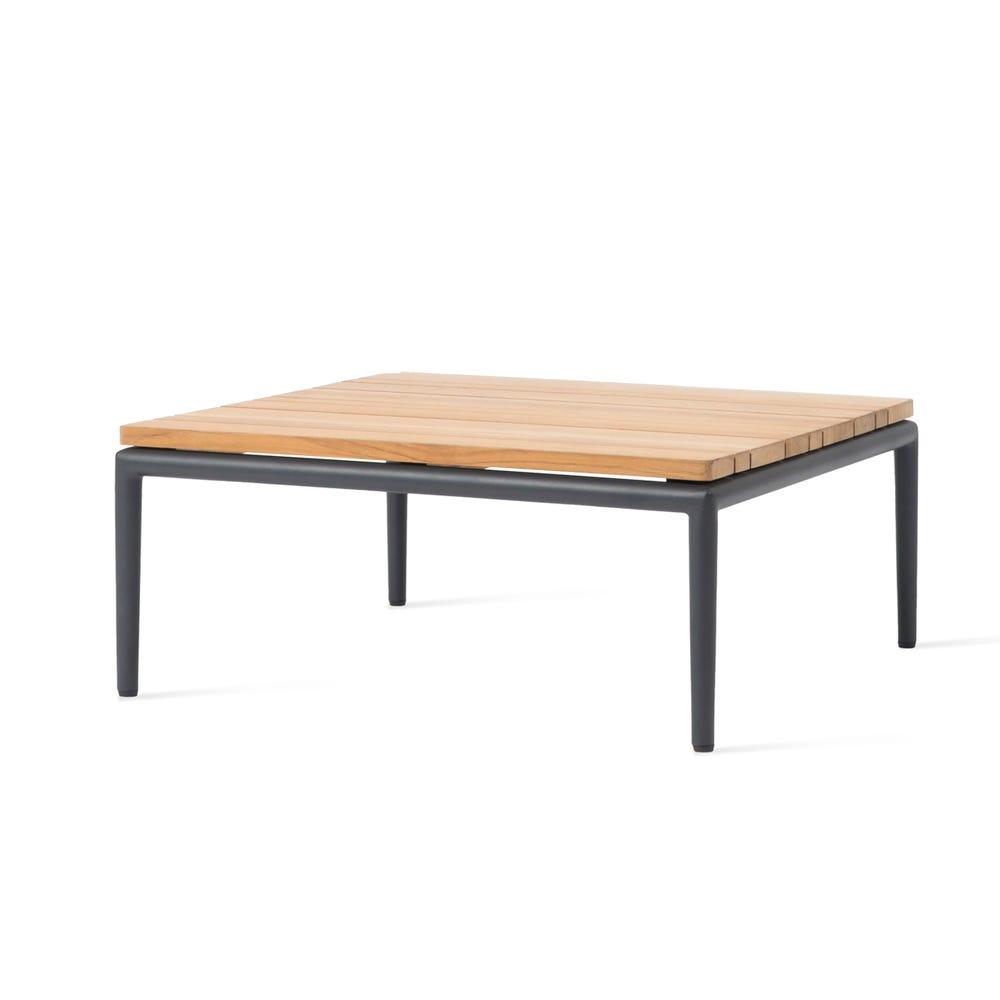 Leo Modular Outdoor Square Coffee Table Teak Wood