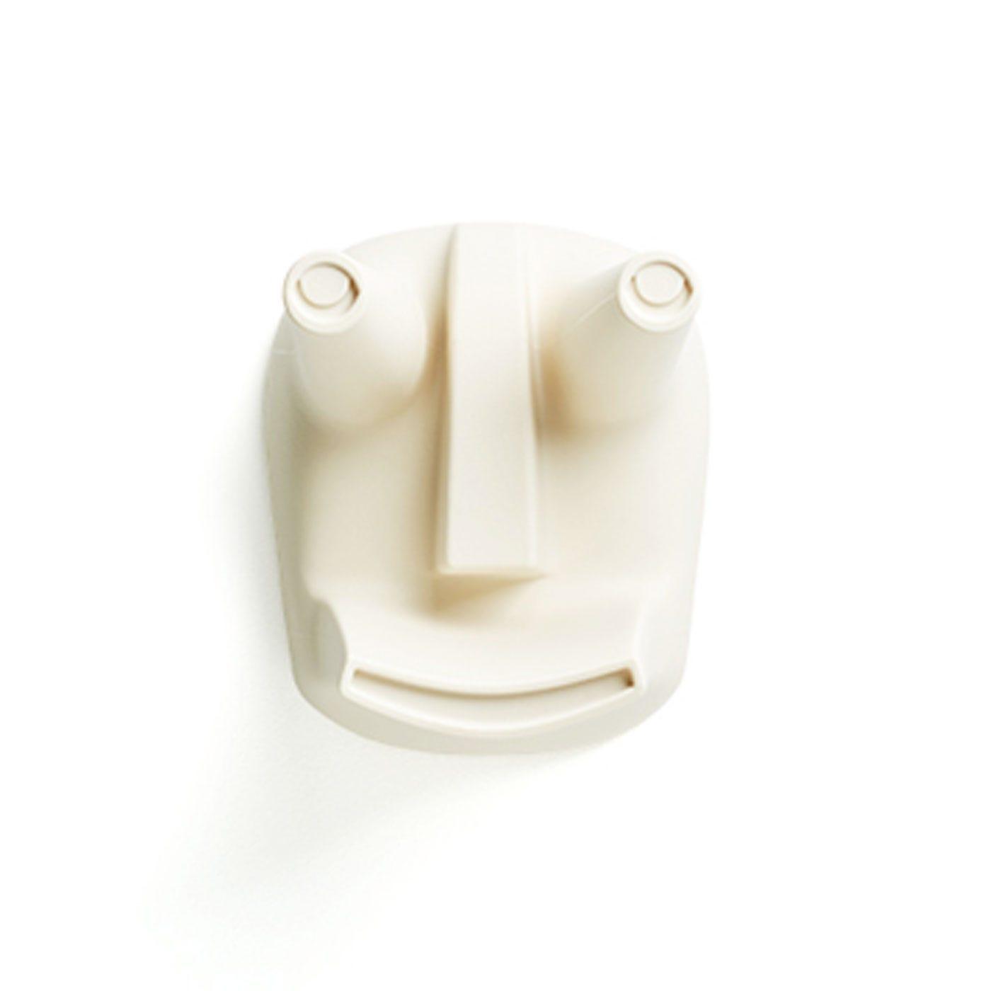 Vodo Masko Stool Yellowish White