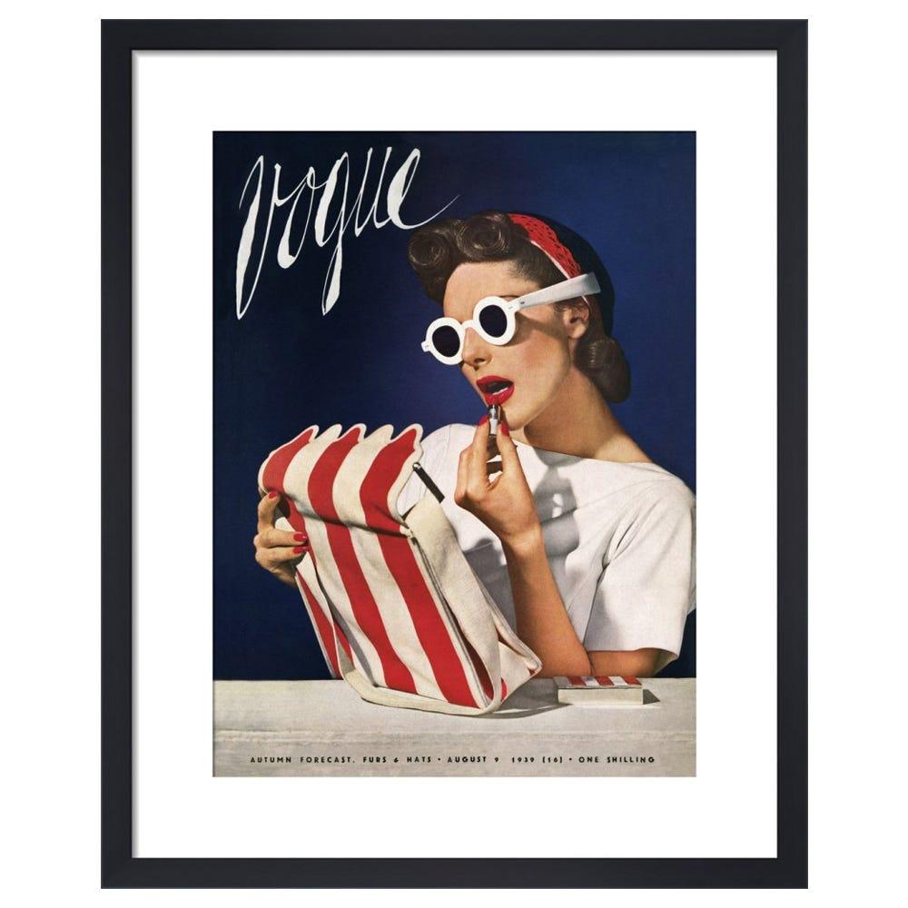 Vogue August 1939 by Horst P. Horst Framed Print