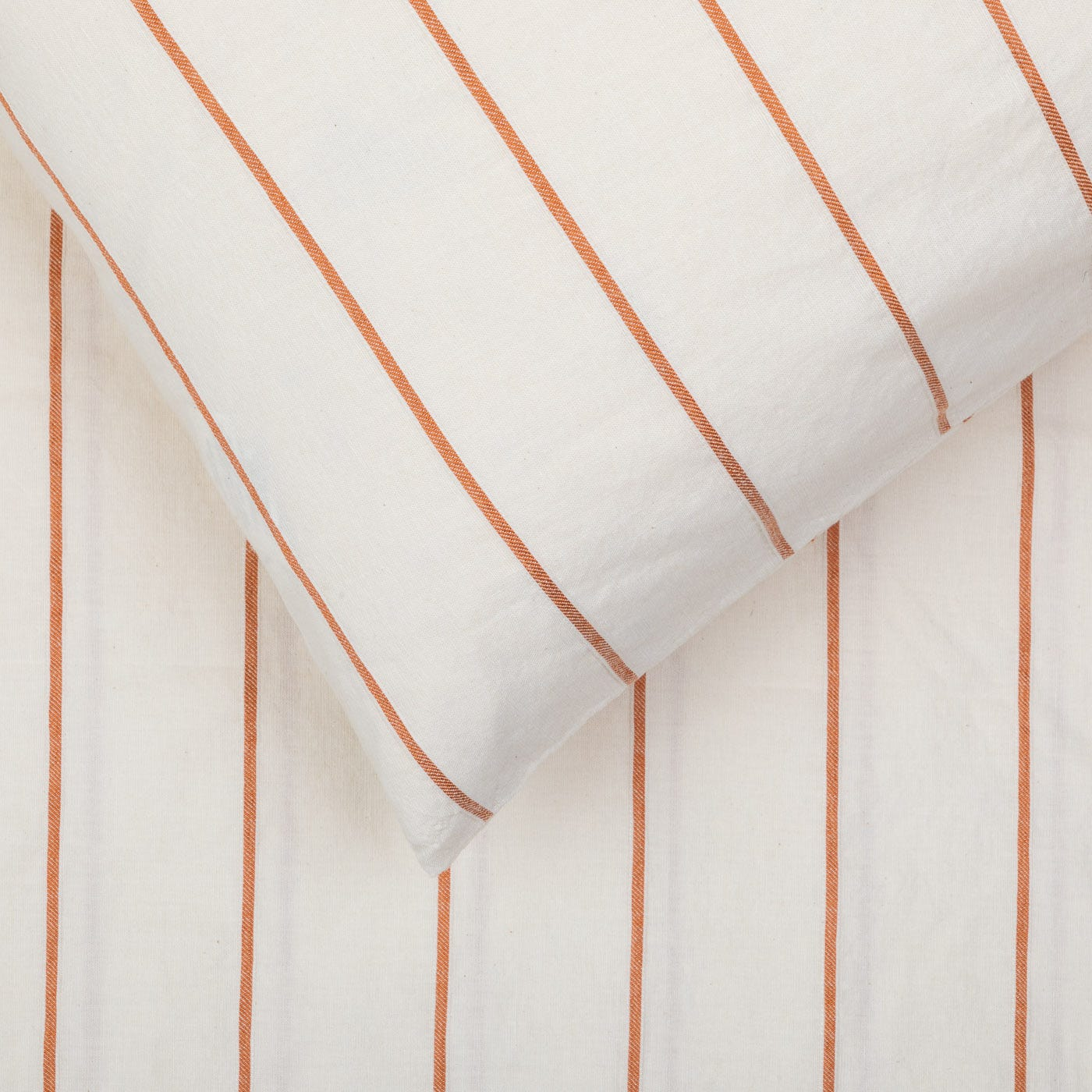 Washed Stripe Duvet Cover Double