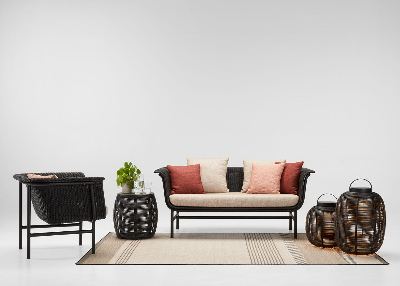 As shown: Wicked outdoor collection.