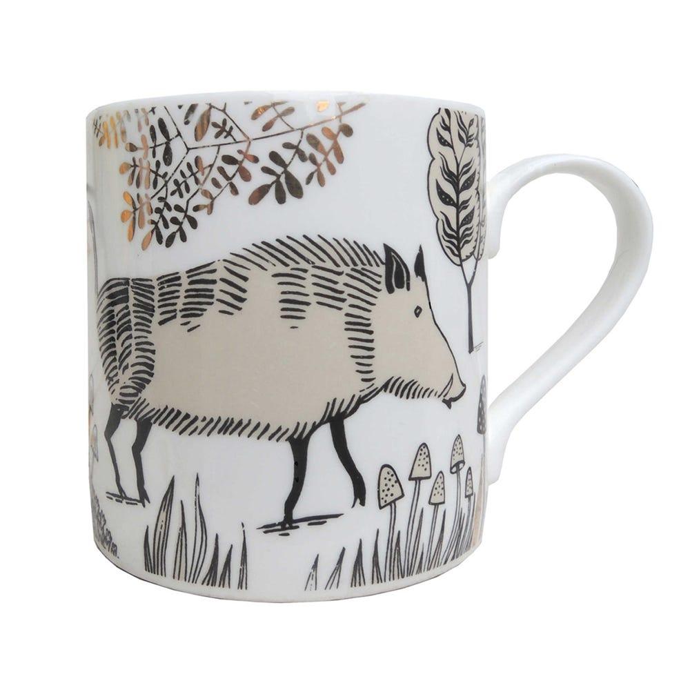 Lush Designs Wild Boar Mug
