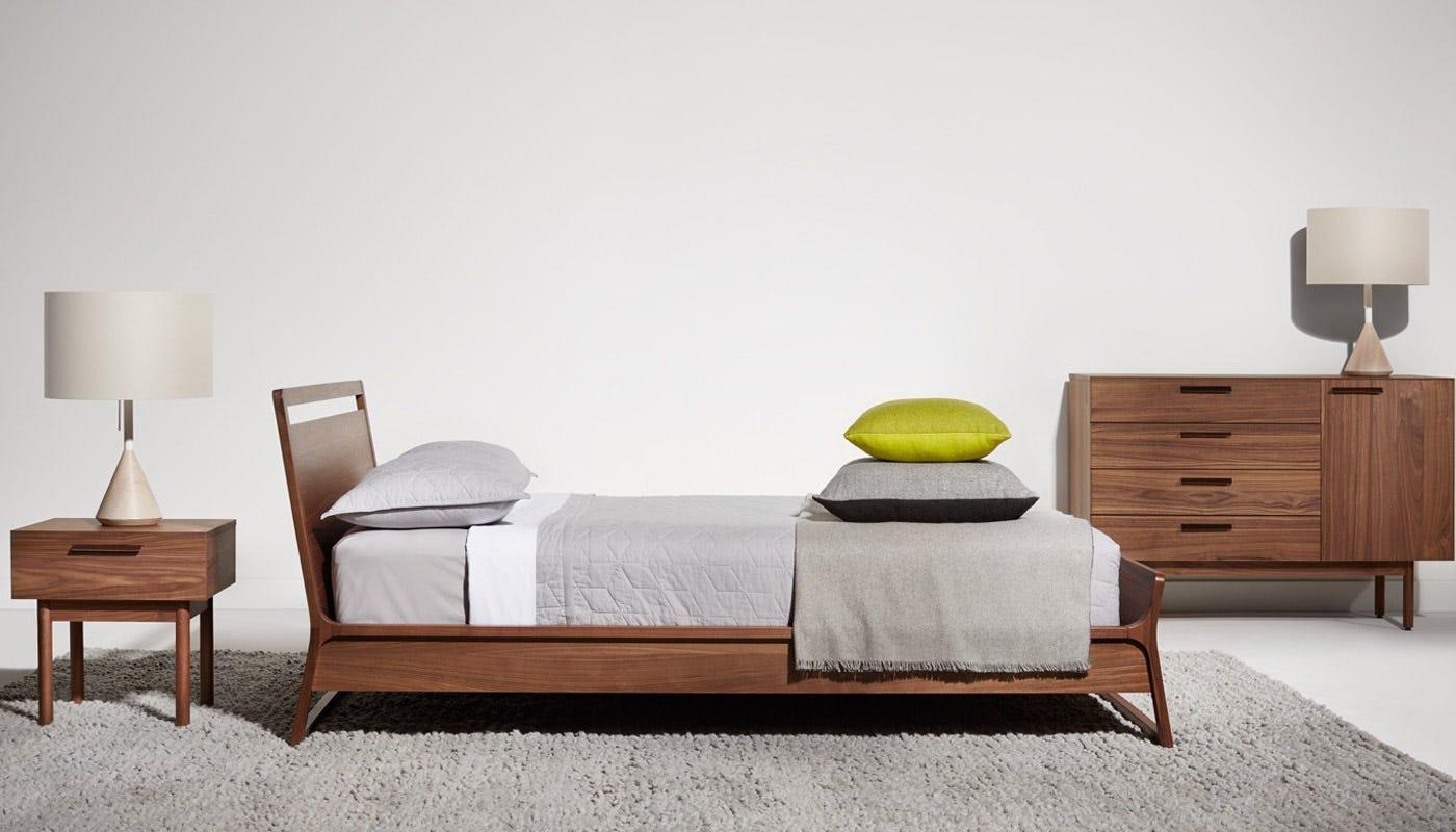 blu dot woodrow bed king -