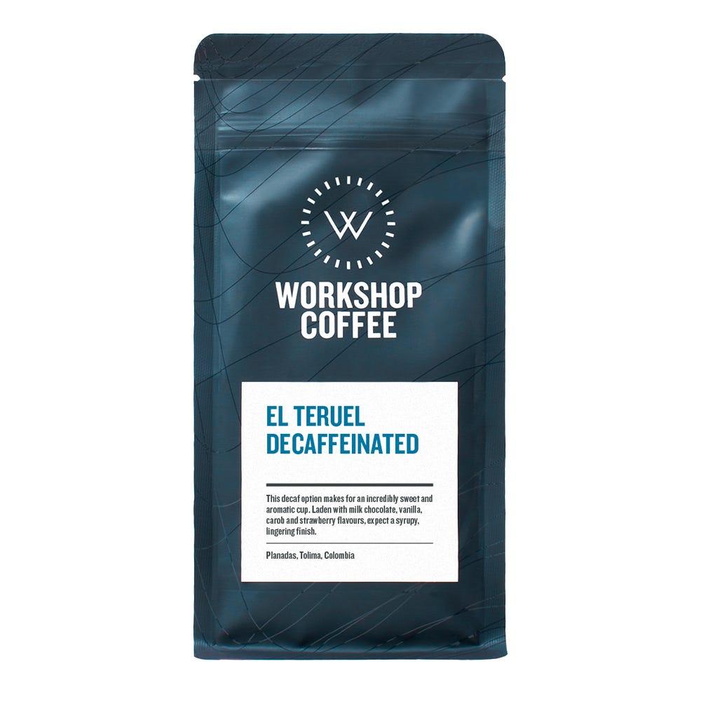 El Teruel Decaf Espresso Coffee Beans 250g