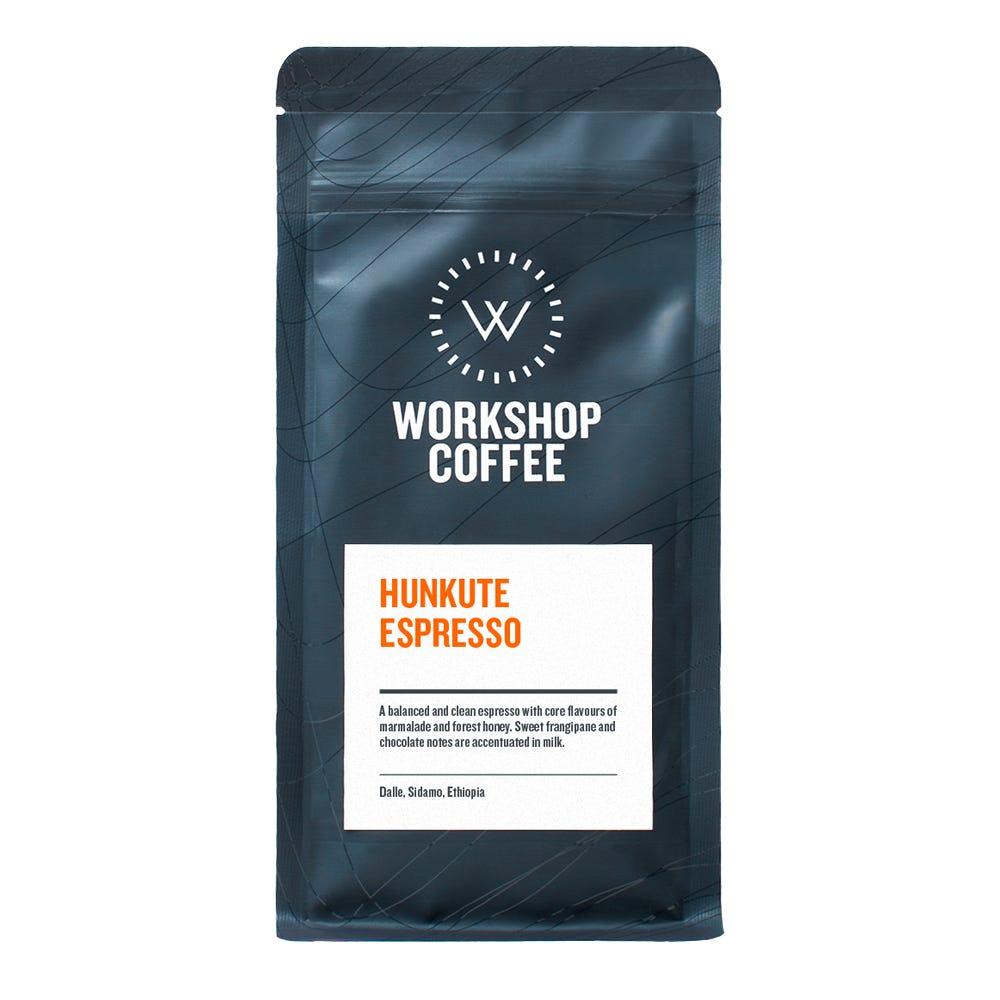 Hunkute Espresso Coffee Beans 250g