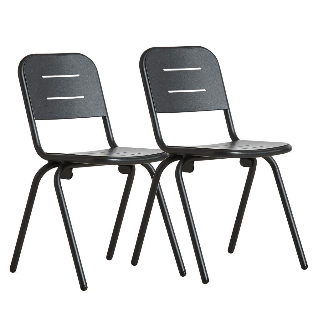 RAY Outdoor Café Chair Set of 2